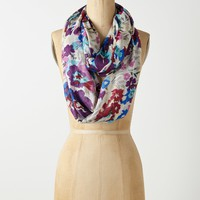 Pansy Bouquet Infinity Scarf