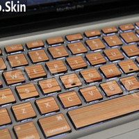 Wood-Macbook decal Macbook Keyboard Decal Macbook Pro Keyboard Skin Macbook Air Sticker apple wireless keyboard Macbook vinyl sticker
