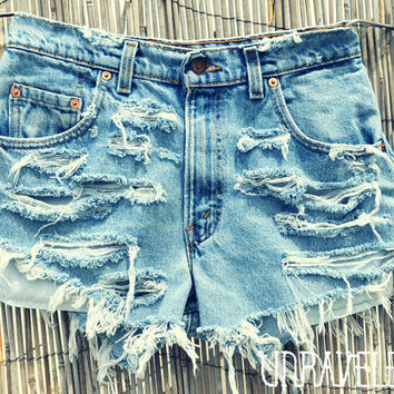 High Waisted Levis SMALL by UnraveledClothing on Etsy