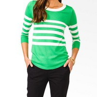 Essential Colorblocked Sweater | FOREVER 21 - 2030187186