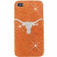 Amazon.com: Texas Longhorns Bling Rhinestone NCAA iPhone 4 4S Case Snap On Cover Faceplate Protector: Cell Phones & Accessories