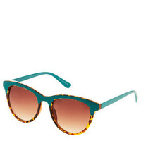 Contrast Overlay Brow Sunglasses - Accessories 4 Sport  - We Love