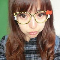 Hello Kitty Cat Bow Frame Glasses | littlebylittle | ASOS Marketplace