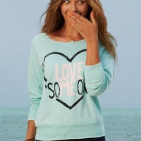 Mint Love Someone Sweatshirt