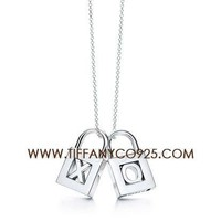 Shopping Cheap Tiffany Lock Charms Necklace At Tiffanyco925.com - Discount Tiffany Setting