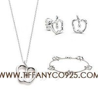 Shopping Cheap Tiffany and Co Elsa Peretti Apple Set At Tiffanyco925.com - Discount Tiffany Setting