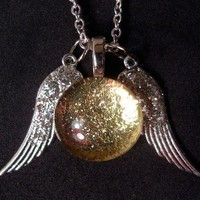 Ginny&#x27;s Snitch Necklace by trophies on Etsy