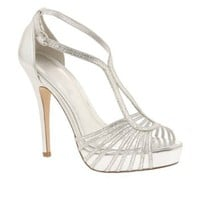 Amazon.com: ALDO Gopie - Women High Heels Sandals - Silver - 9: Shoes