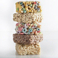 Cereal mallow bars from Hot Blondie Bakery.