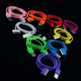 Bluecell 3-Feet USB Sync Data Cable for iPhone 4/4S/3G/iPod with Free Bluecell Cable Tie - 7 Pack - Aqua Blue/Black/Green/Hot Pink/Purple/White/Yellow: Cell Phones & Accessories