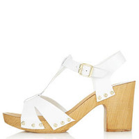 NANO T-Bar Clog Sandals - View All - Heels  - Shoes