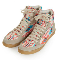 TEEPEE2 Aztec Hi-Tops - New In This Week - New In - Topshop