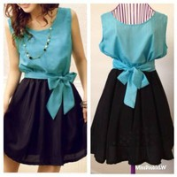Color block dress from DoubleLW