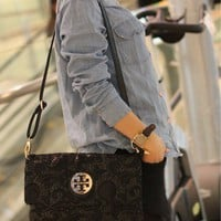 retro fashion black lace bag from NewYorkscene