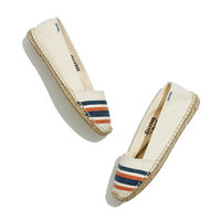 Soludos Low-Cut Espadrilles in French Stripe