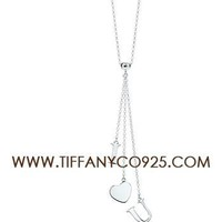 Shopping Cheap Tiffany and Co I Love You Drop Pendant Necklace At Tiffanyco925.com - Discount Tiffany Necklaces