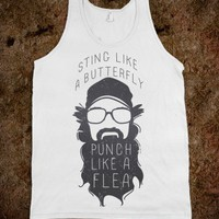 Sting Like a Butterfly (Tank) - Ruralrule - Skreened T-shirts, Organic Shirts, Hoodies, Kids Tees, Baby One-Pieces and Tote Bags