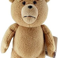 "Ted 16"" Plush with Sound & Moving Mouth (Explicit Language)"