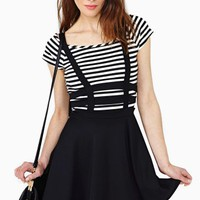 Captive Suspender Skirt