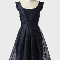 midnight garden embroidered dress at ShopRuche.com