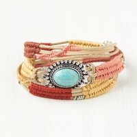 Free People Stone Center Wrap Bracelet