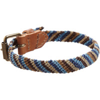 Caputo & Co Leather Braided Bracelet at Barneys.com