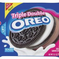 Nabisco Triple Double Oreo, 13.1-Ounce (Pack of 4): Amazon.com: Grocery & Gourmet Food