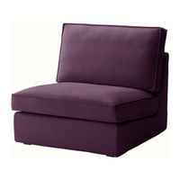 KIVIK One-seat section - Dansbo lilac  - IKEA