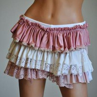 Ruffled Bootie Shorts