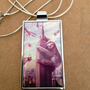 Slothzilla, Sloth Necklace, Jewelery, Sterling Silver, Snake Chain