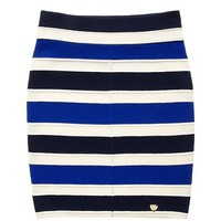 Girls Stripe Needle Skirt