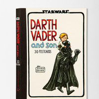 Darth Vader And Son Postcard Book