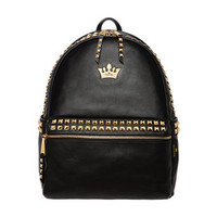 Rock Studed Crown Backpack — Faboutique