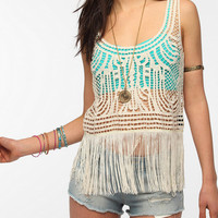 Staring At Stars Soutache Fringe Tank Top
