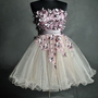 2013 New Cheap Strapless Mini Sweetheart Prom Dresses