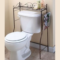 Bronze Over-the-Toilet Stand