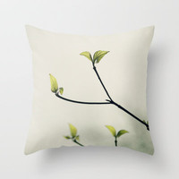 New Life Throw Pillow by Erin Johnson