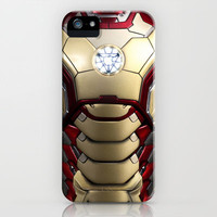 Iron/man mark VIII  iPhone Case by Emiliano Morciano (illustration)