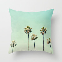 Palm Trees  Throw Pillow by Bree Madden  | Society6