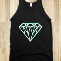 3D Tiffany Diamond - Awesome fun #$!!*&amp; - Skreened T-shirts, Organic Shirts, Hoodies, Kids Tees, Baby One-Pieces and Tote Bags