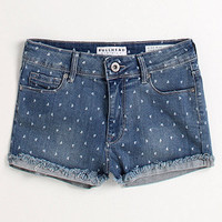 Bullhead Heart Printed Hi Waisted Shorts at PacSun.com