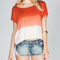 EYESHADOW Tie Dye Womens Tee 216171700 | Knit Tops & Tees | Tillys.com