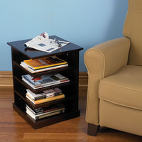 The Organized Reader's End Table - Hammacher Schlemmer
