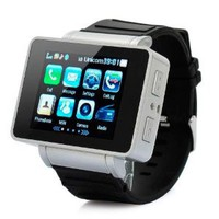 Amazon.com: E4worlds Unlocked 1.8&#x27;&#x27; Inch I3 Watch Touch Cell Mobile Phone GSM Hidden Camera Dv Bluetooth Mp3/4 Java Black: Cell Phones &amp; Accessories