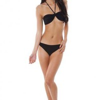 Halter Bikini Set