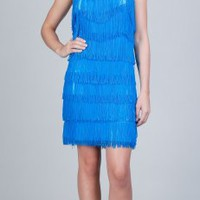 Shopping Turquoise Flapper Dresses by eDressMe new york