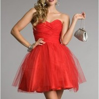 New Taylor-Red Prom Dresses