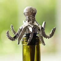 Octopus Bottle Stopper