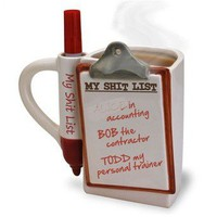 Shit List Mug - Whimsical &amp; Unique Gift Ideas for the Coolest Gift Givers