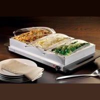 Nostalgia Electrics BCD-992 3-Section Buffet and Warming Tray